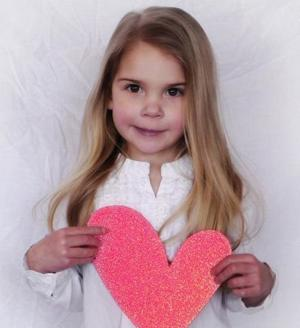 Family of girl with half a heart helps others