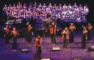 Gerald W. Kirn students groove with Harlem Gospel Choir