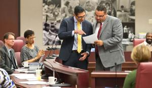 New OPS board member Anthony Vargas wastes no time in getting down to business