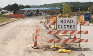 Iowa Western Community College road project in high gear