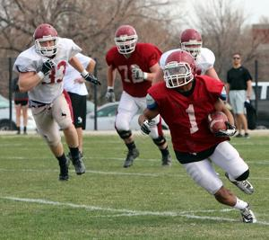 Chadron State coach happy with spring football