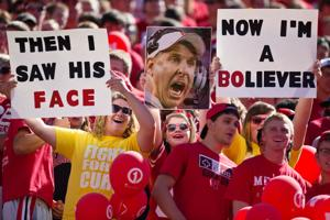 Fans have their own F-word for Coach Pelini: forgiveness