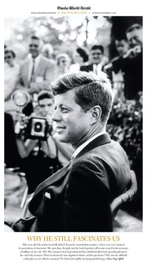 John F. Kennedy: Young candidate's charisma endures in Omaha photo