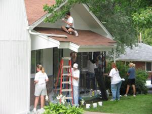 Homeowners' grateful faces keep painters coming back