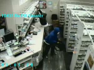 Burglars steal drugs at two Walgreens pharmacies
