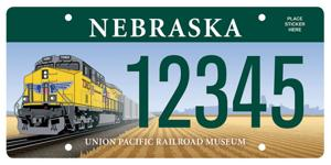 Union Pacific specialty license plate named best in U.S.