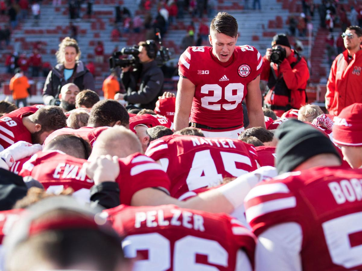 After departure of assistant Ron Brown, Graham Nabity finds role not as a runner, but as a spiritual leader for Huskers