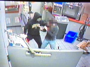 Police looking for armed robber