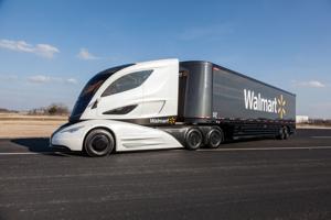 Futuristic truck would boost Walmart's fuel efficiency