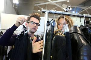 Stylist Goreski figures out tricks of his trade