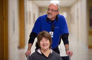 Kelly: Retiree says his new job, as hospital escort, is the best one he's ever had