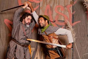 Theater review: Lively action, magical ending in Rose's 'Robin Hood'