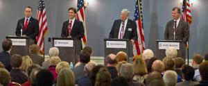 In debate, 4 Nebraska GOP candidates for Senate stay civil but take aim at Obama