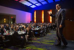 Sen Ted Cruz gets warm reception in Iowa, has no regrets about efforts to derail Obamacare