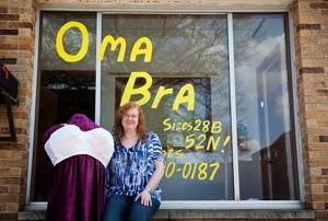 The Benson shop with the great big bra is last of its kind in Omaha