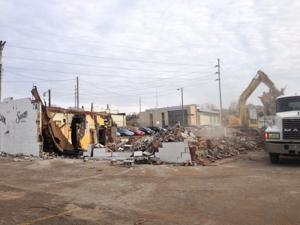 Former Pauli's is being demolished, will become parking lot