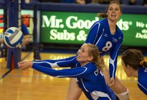 Sicner settling in as Bluejays' setter