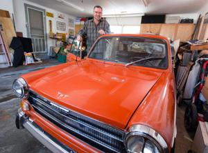 Grace: Passion or obsession, Omahan Scott Benson sure loves his cars