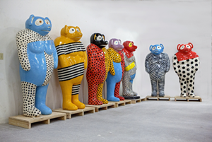 Outdoor Chicago exhibit to feature sculptures of Omahan Jun Kaneko