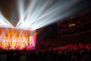 Paul McCartney performs at Pinnacle Bank Arena