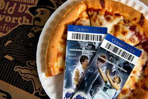 Points equal pizzas for Creighton season ticket holders