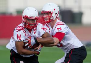 Young Husker I-backs get ready to run