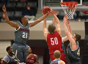 UNO men rally past South Dakota for second Summit win