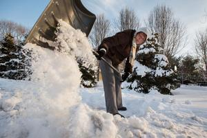 Cities warn residents to clear snowy sidewalks or pay a fine