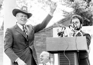 Hometown honors President Gerald Ford at 100
