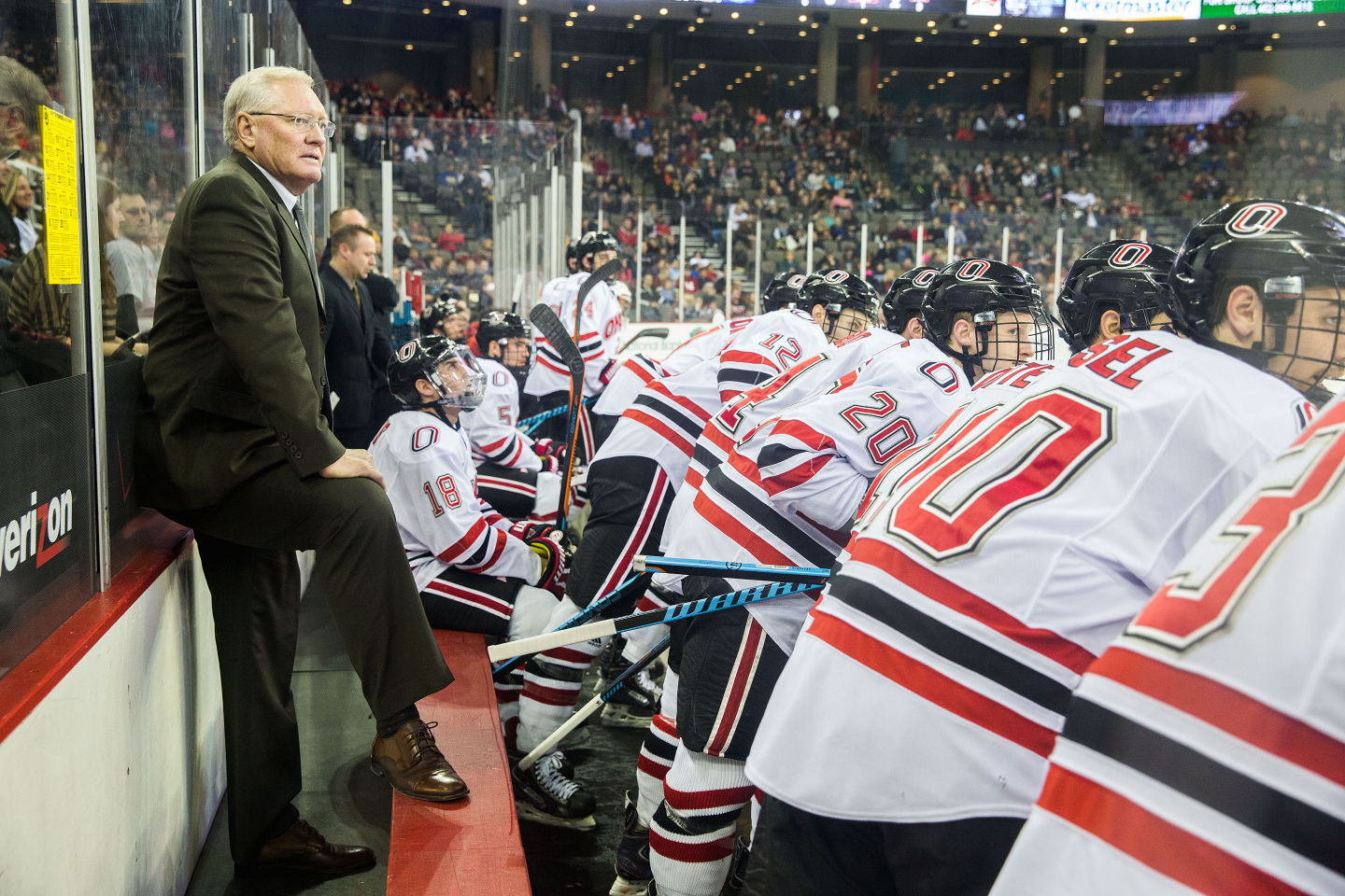 NCHC: With Goals Close, Mavericks Don't Plan To Let Up