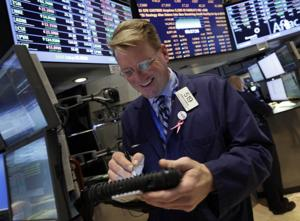 New Dow mark shows things 'back to normal'