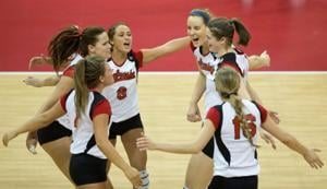 Nebraska sweeps Fairfield, will face Oregon in 2nd round of NCAA volleyball tourney