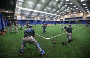 Jays unveil indoor home base