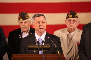 Video: Veteran groups show support of Heineman's tax proposals