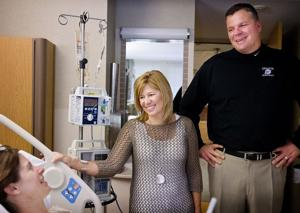 McDermott, wife offer hope to breast cancer patients