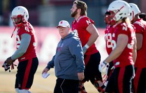Nebraska offensive line coach Mike Cavanaugh wants technicians in the Husker trenches