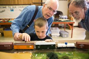 Model train club for youngsters gets chugging