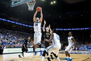 Creighton's Wragge holding his own on defensive end
