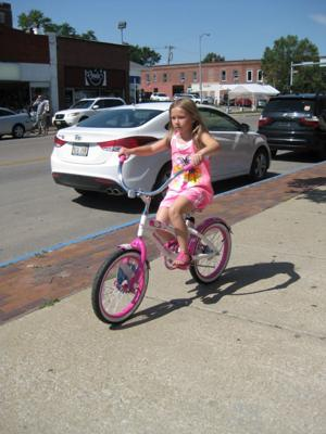 Her first one stolen, 8-year-old gets new Hello Kitty bike
