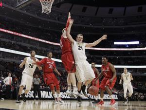 Huskers upset Purdue to advance in Big Ten tourney