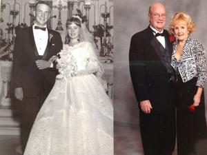 How they met: Meeting as kids, they've shared a lifetime