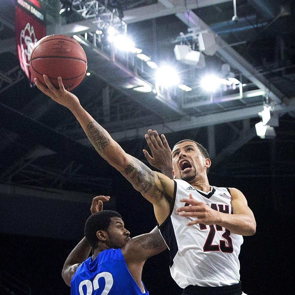 In Marcus Tyus' fifth year in program, UNO's top scorer eagerly awaits chance to play in Summit event