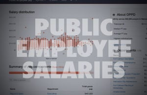 Public employee pay data: Douglas, Lancaster, Sarpy Counties, City of Omaha