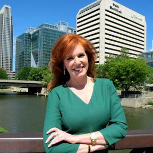 Fox's Liz Claman at downtown steakhouse today to meet Omahans and, well, eat some steak