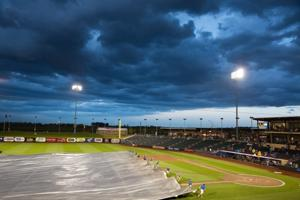Chasers' PCL title series opener suspended by rain