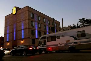 In New York, RVs are one answer to soaring rents