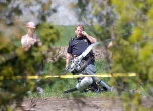 Pilot survives ultralight plane crash in Waterloo, Iowa