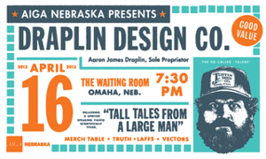 Aaron Draplin to speak at AIGA Nebraska event April 16