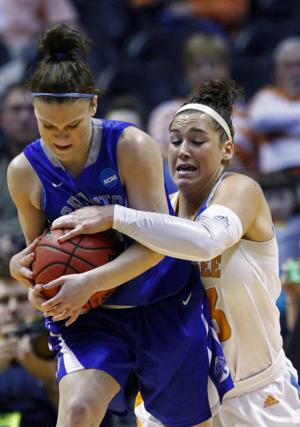 Jays hold their own early, then Lady Vols pull away