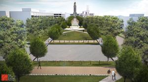 Centennial Mall in Lincoln will feature Wi-Fi, interactive history system